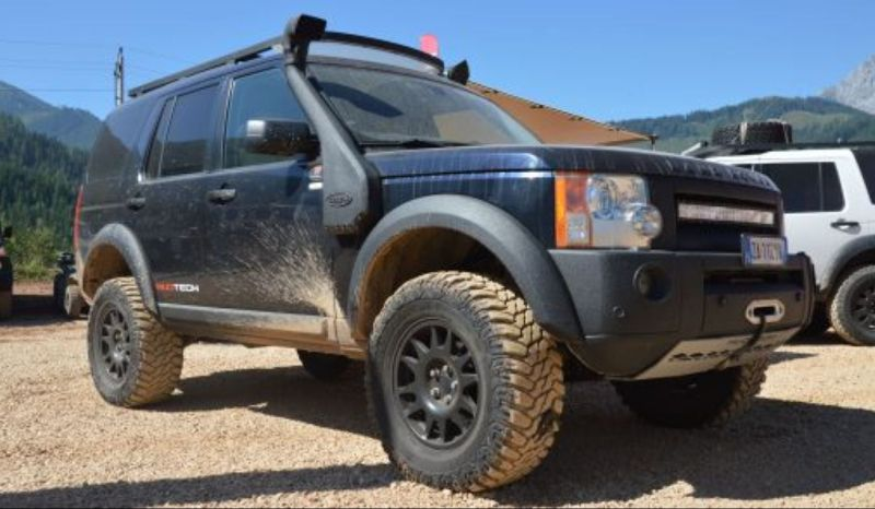 MudTech4x4 Russia на фестивале дарит призы владельцам Land Rover