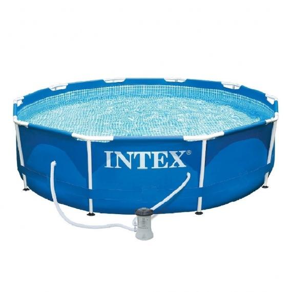каркасный круглый бассейн
