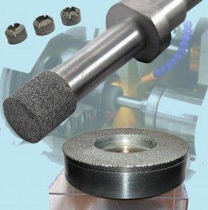 Алмазные и эльборовые головки «МОНАЛИТ» для внутреннего и координатного шлифования металлов и сплавов, стекла, керамики для станков с ЧПУ