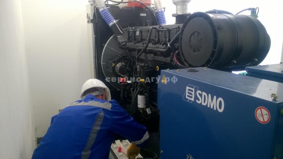 сервисное обслуживание ДГУ SDMO