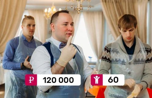 Кулинарный мастер-класс «Юг-Строй» портфолио