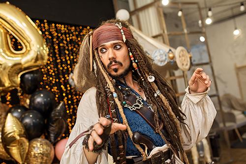 «Пиратское приключение» Димы и Ромы