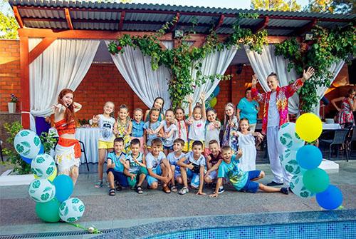 «Гавайская вечеринка» Алексея