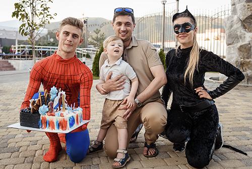 «Супергерои» Лион и Алексей