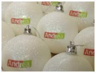 Брендирование елочных шаров| UlrihMedia