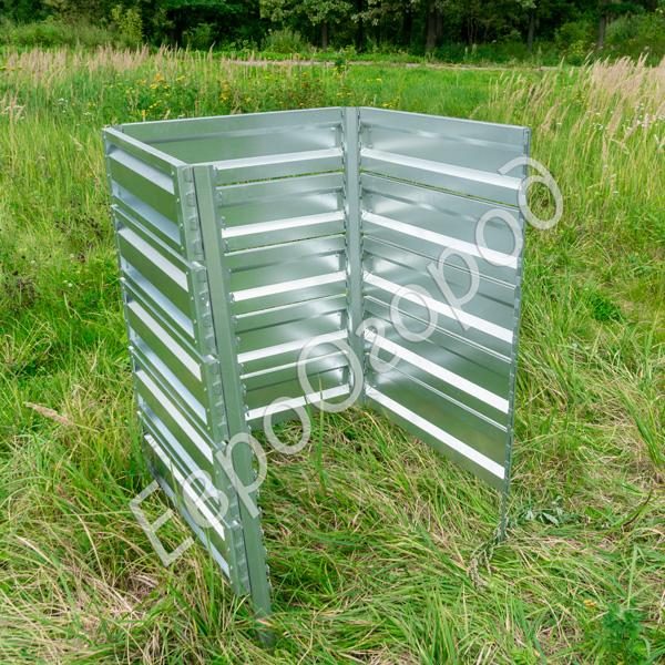 Расширитель оцинкованного компостера Премиум 75x75 см