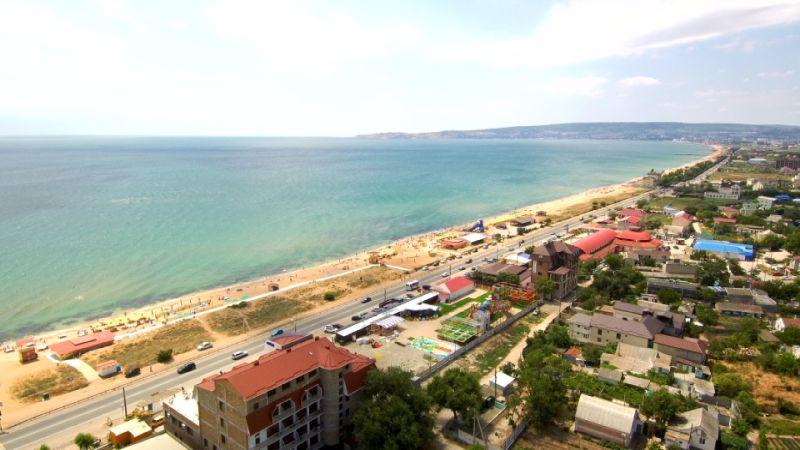 Как доехать до Берегового, Крым, Феодосия