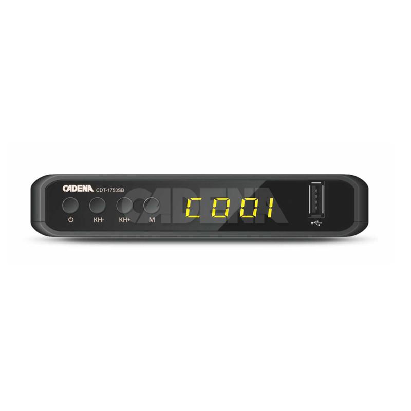 картинка Приемник цифровой эфирный CADENA CDT-1753SB от магазина ТВ