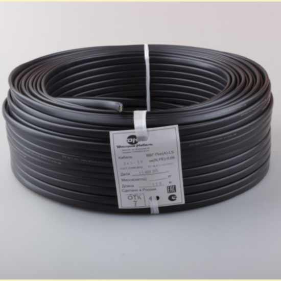 картинка Кабель электрический ВВГнг(А)-LS 5х1.5 Черный 100.0m от  магазина услуг и товаров RADIST