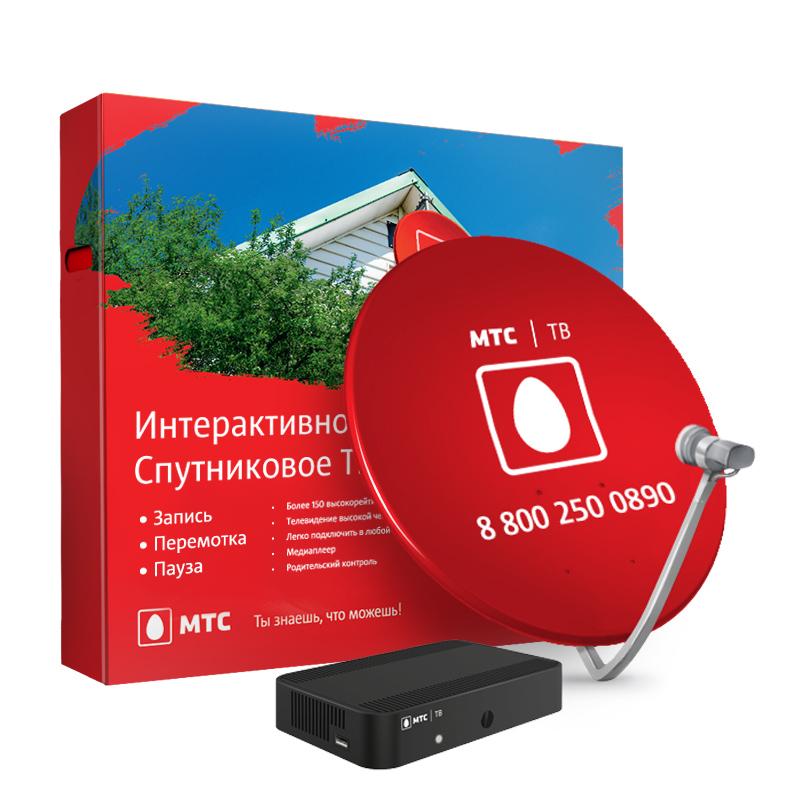 картинка Комплект спутникового ТВ МТС №11 STB Dune HD TV 251-S2 MTS Lite Plus (на 1 месяц) от магазина Спутникового телевидения