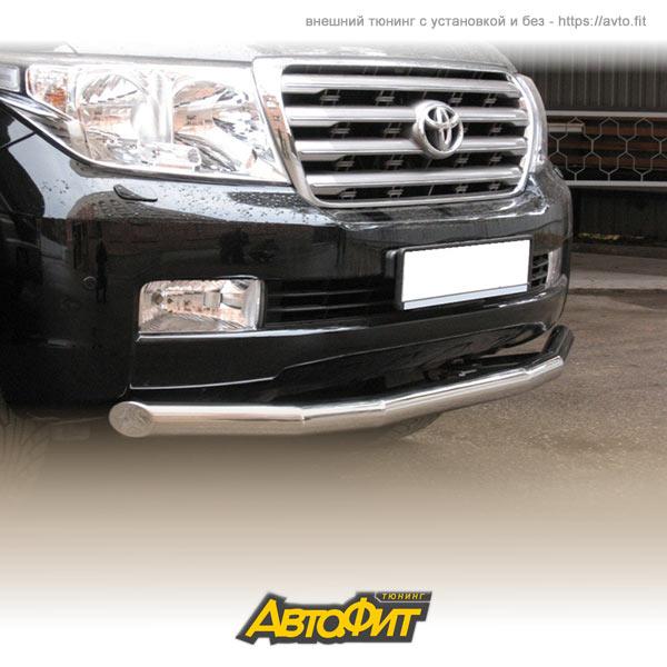 картинка Защита переднего бампера TOYOTA Land Cruiser 200. 2007-2012 d76 (секции) от автомагазина