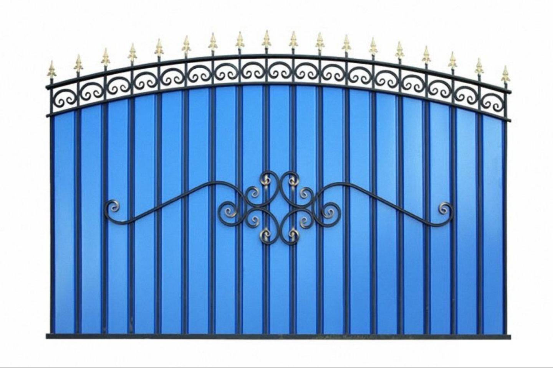 Забор кованый готовый