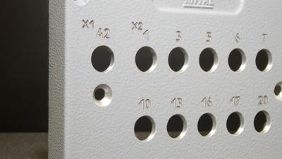 Пример обработки на лазерном оборудовании - гравировка приборных панелей