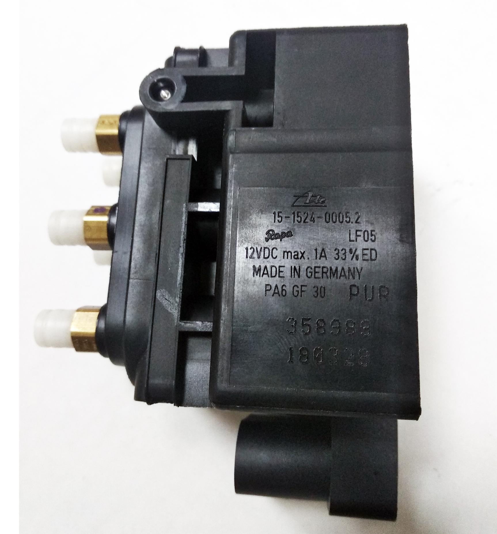 картинка Оригинальный блок клапанов пневмоподвески Audi A6 (C5 4B, C6 4F), A8 (D3 4E) от магазина пневмоподвески ПневмоМаркет