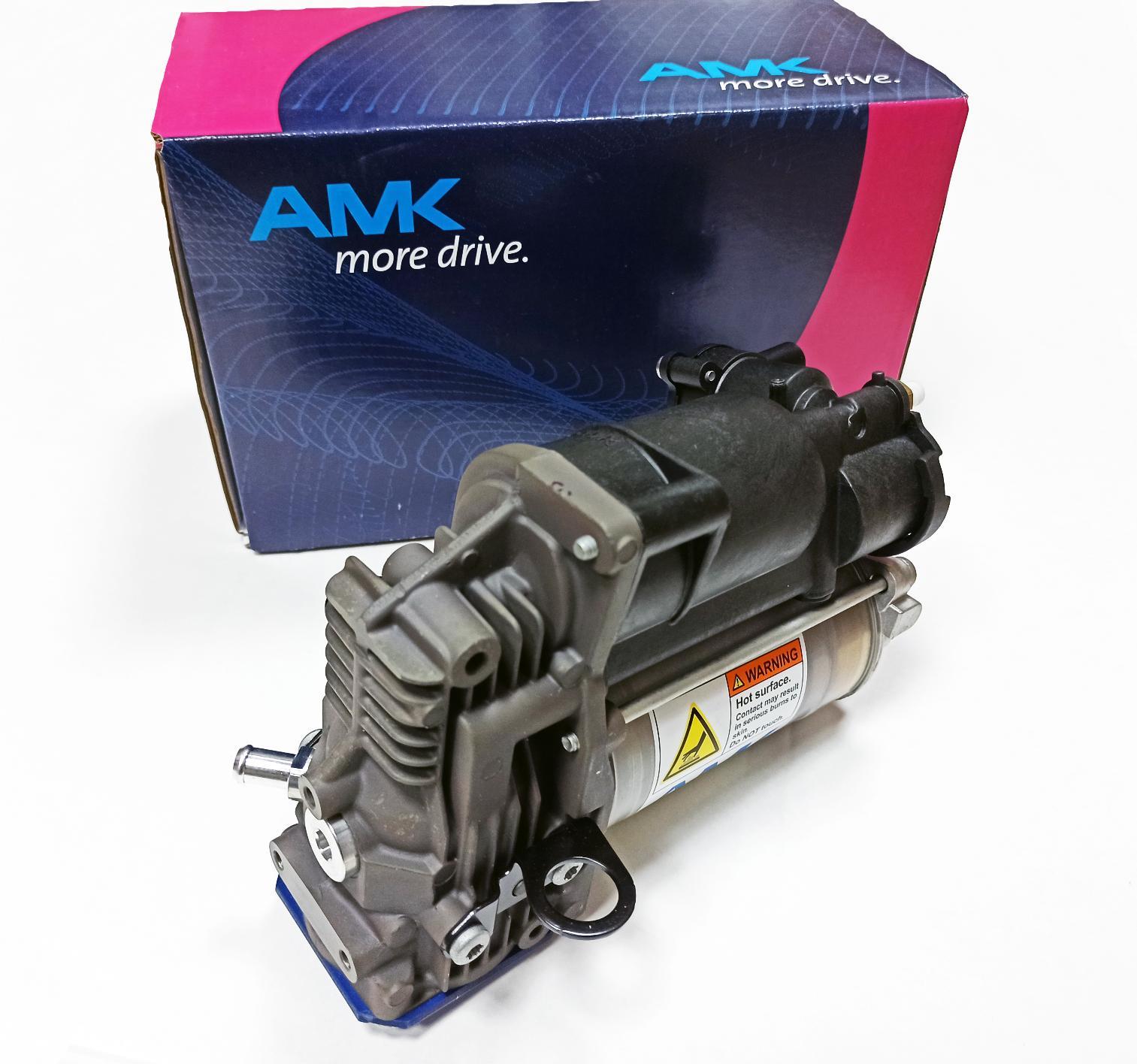 картинка Новый оригинальный компрессор пневмоподвески AMK для Mercedes X164 GL, W164 ML (A1643201204) от магазина пневмоподвески ПневмоМаркет
