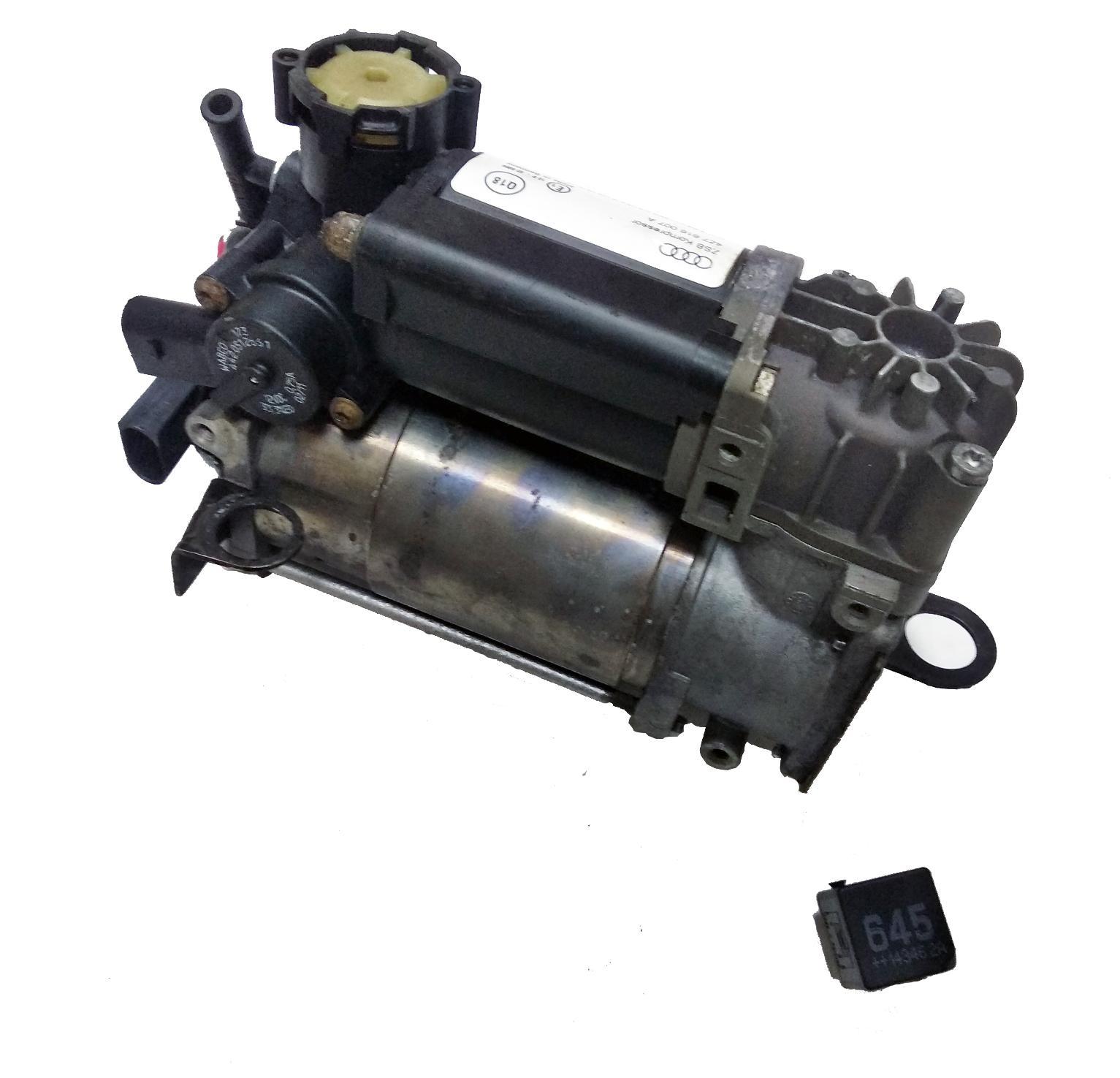 картинка Оригинальный восстановленный компрессор пневмоподвески Wabco для Mercedes-Benz W211, W219, W220 и Maybach W240 (A2203200104) от магазина пневмоподвески ПневмоМаркет