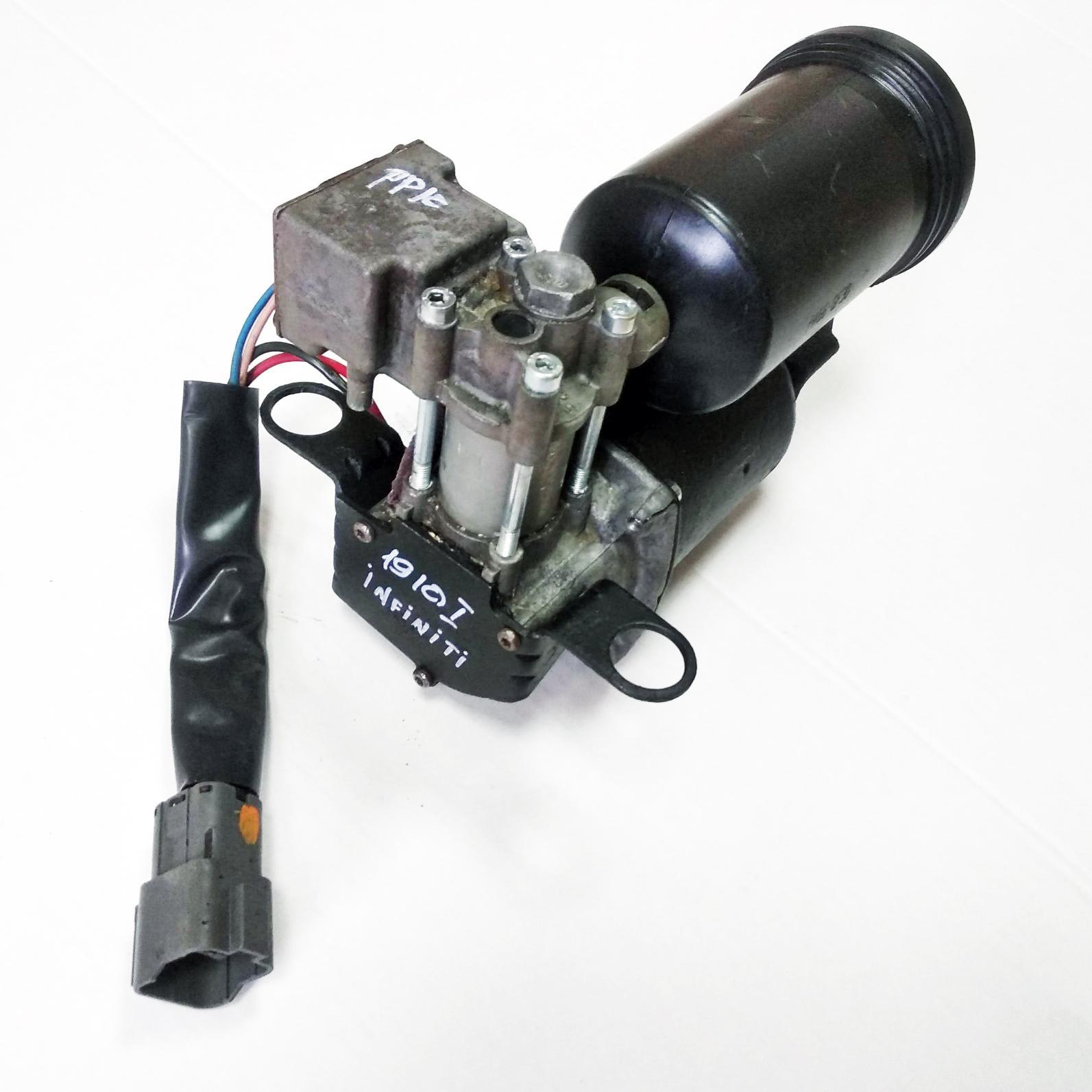 картинка Оригинальный восстановленный компрессор пневмоподвески Infiniti QX56/QX80 Z62 JA60, Nissan Armada Y62 (534007S600, 534001LA4A) от магазина пневмоподвески ПневмоМаркет