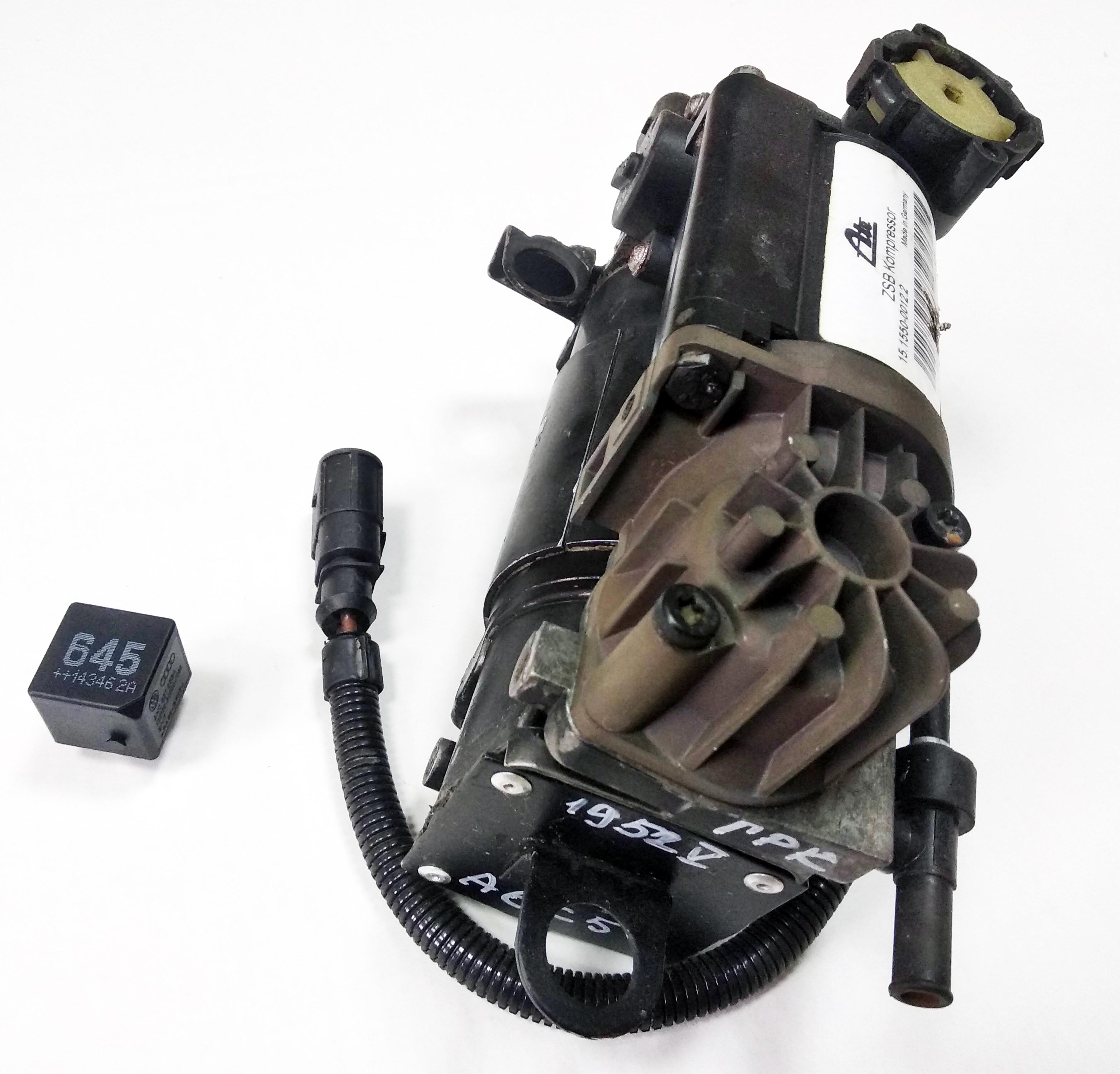 картинка Оригинальный восстановленный компрессор пневмоподвески Wabco для Audi A6 C5 4B Allroad Quattro (4Z7616007) от магазина пневмоподвески ПневмоМаркет