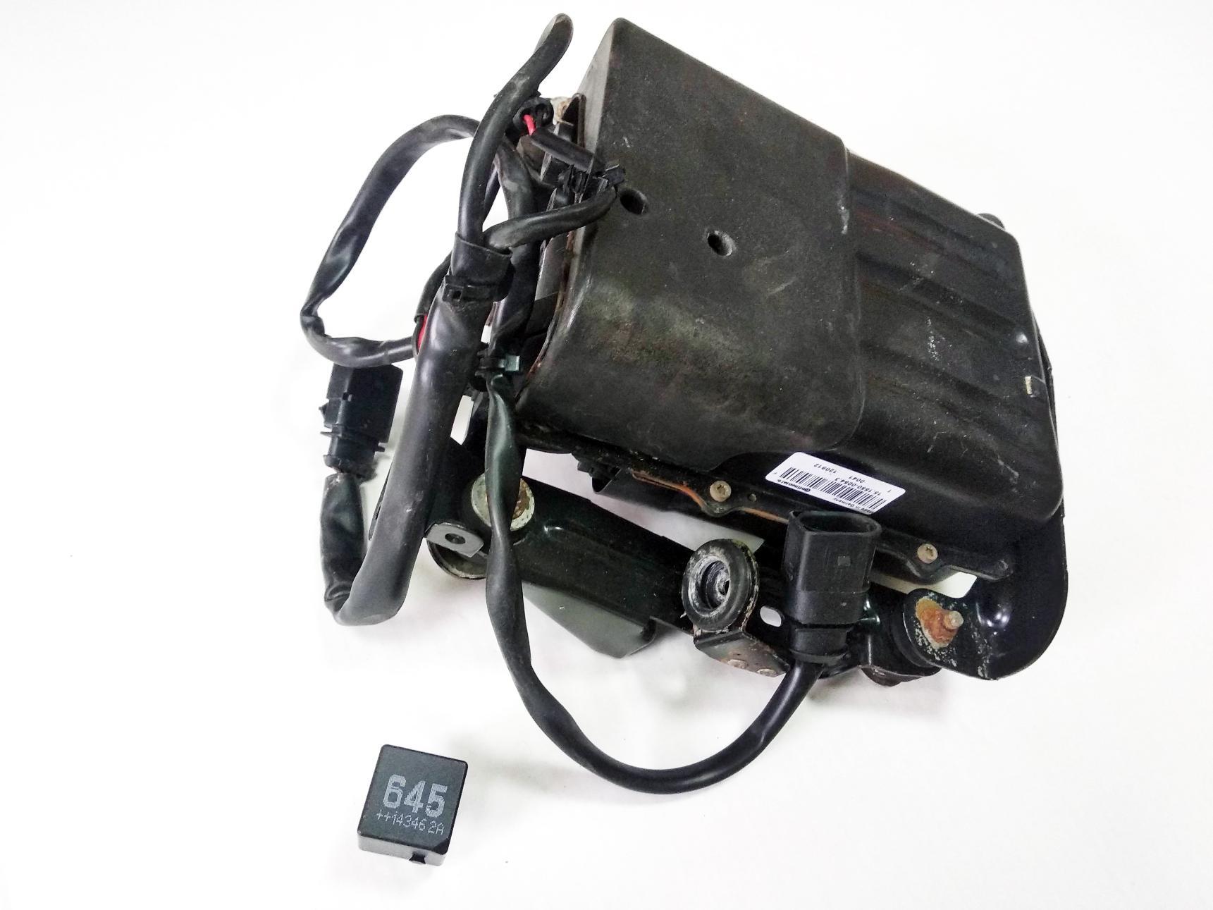 картинка Оригинальный восстановленный компрессор пневмоподвески Continental для Porsche Panamera 970 (97035815107) от магазина пневмоподвески ПневмоМаркет