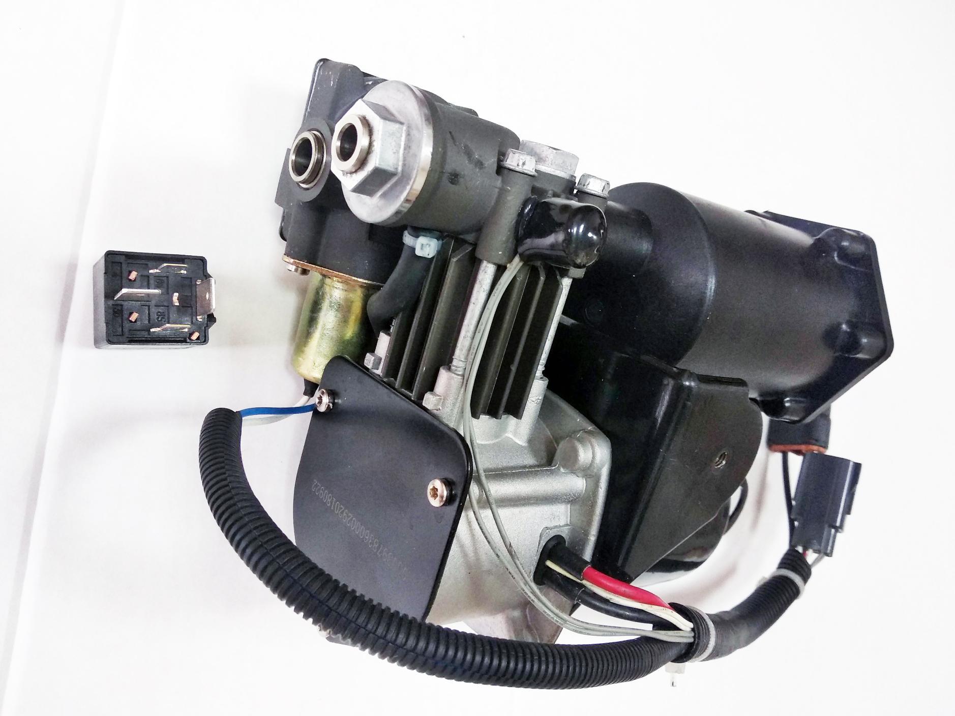 картинка Новый компрессор пневмоподвески Miessler Automotive - Hitachi (LR061663, LR023964) для Land Rover L319 Discovery 3 и 4 / L320 Range Rover Sport от магазина пневмоподвески ПневмоМаркет
