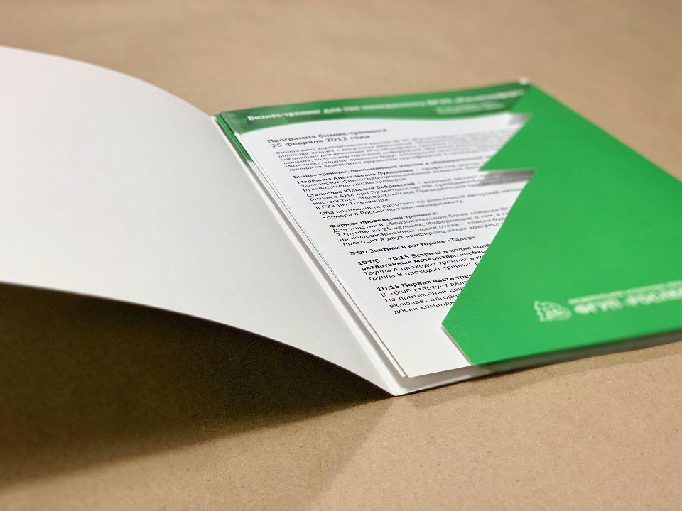 Папка с вырубным карманом