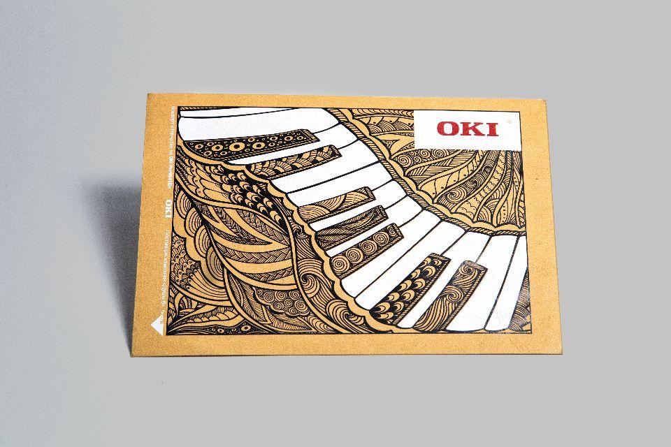 печать на конверте из крафта