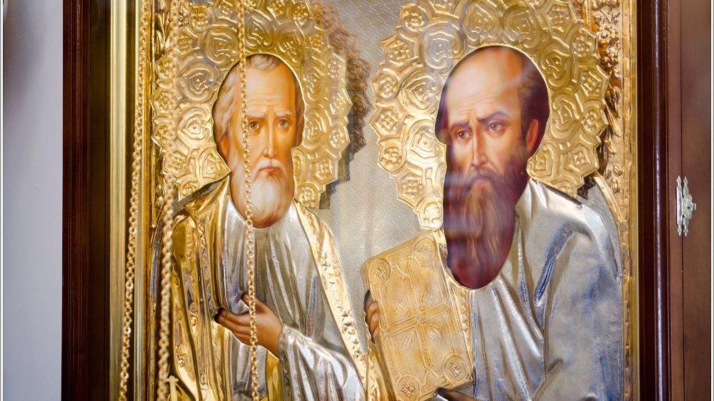 Апостолы Петр и Павел 12 июля