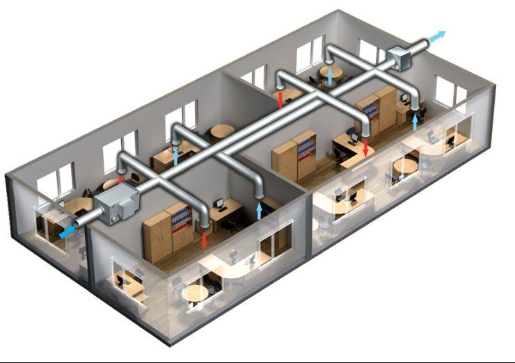 Вентиляция офиса