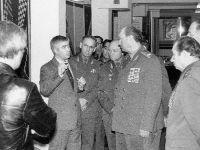 Первый заместитель главкома ВВС, маршал авиации А. Н. Ефимов