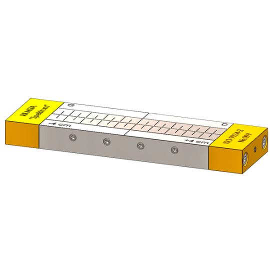 """Эталонный образец типа 2 ГОСТ Р ИСО 9934-2-2011 """"Контроль неразрушающий. Магнитопорошковый метод. Часть 2. Дефектоскопические материалы"""""""