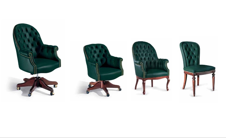 Кресло руководителя, посетителей Oregon – Кабинет премиум класса Imperial Elledue