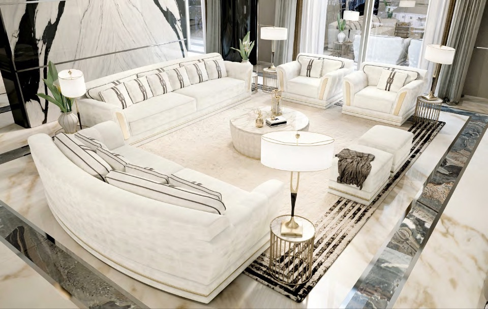 Гостиная Ludovica - Luxury Collection от Keoma Italy