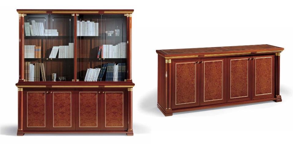 Библиотека, Тумба – Кабинет премиум класса Ascot Elledue