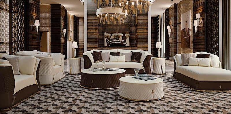 Элитная мебель в современном стиле Turri