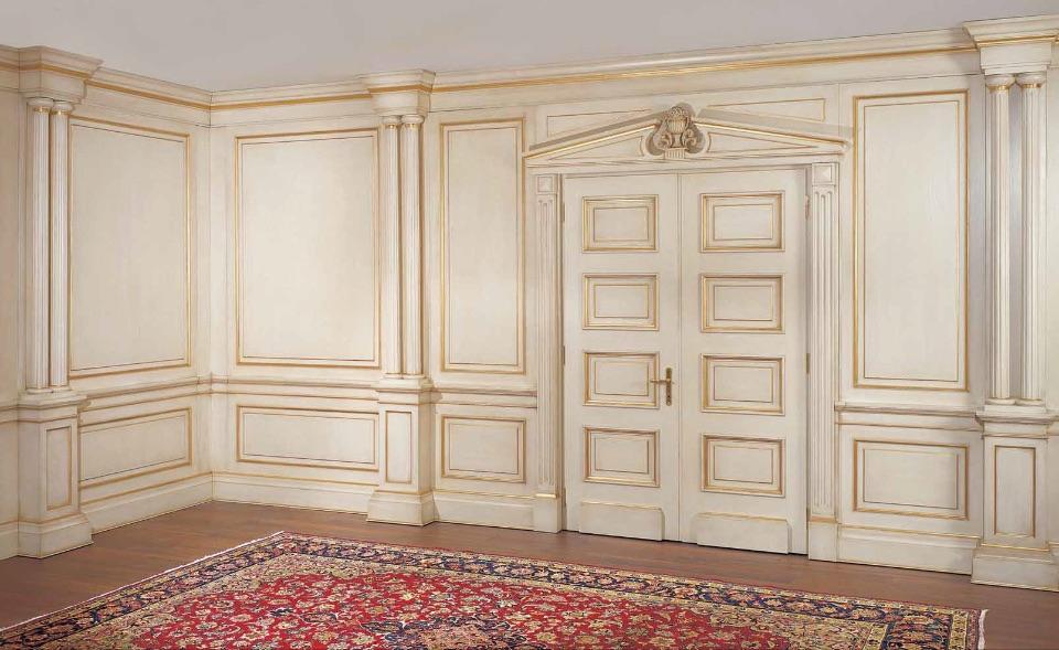 Буазери / Стеновые панели – кабинет премиум класса Imperial Elledue