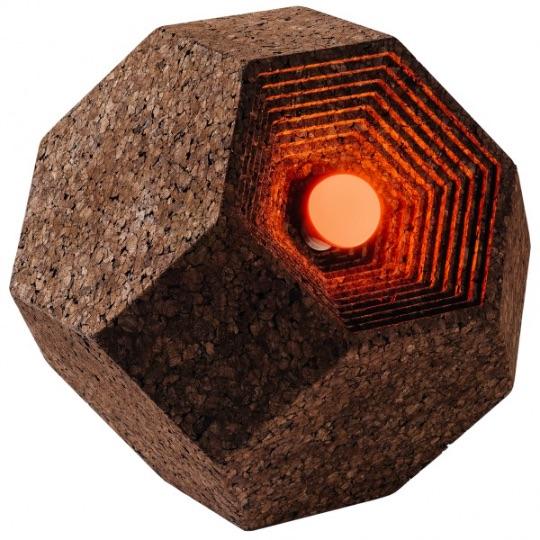 Настенные пробковые покрытияCorkAhedron Gencork
