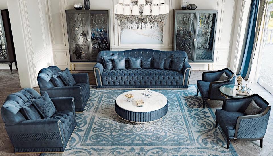 Гостиная Melania - Luxury Collection от Keoma Italy