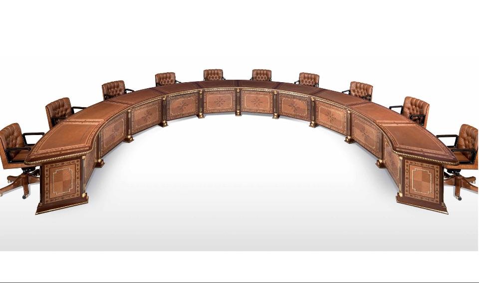 Конференц-столы для переговоров премиум класса Almaty Elledue