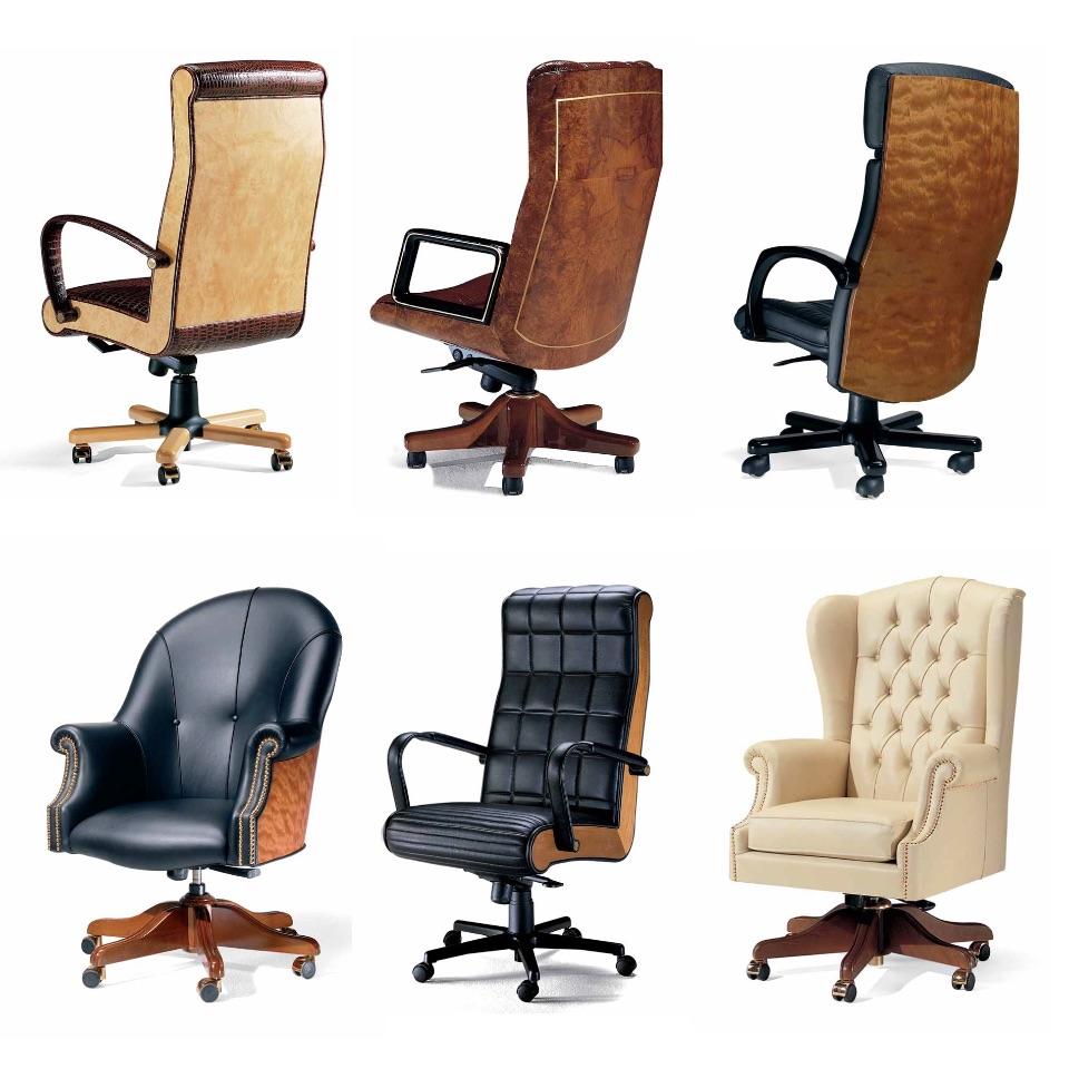 Кресло руководителя премиум класса Elledue