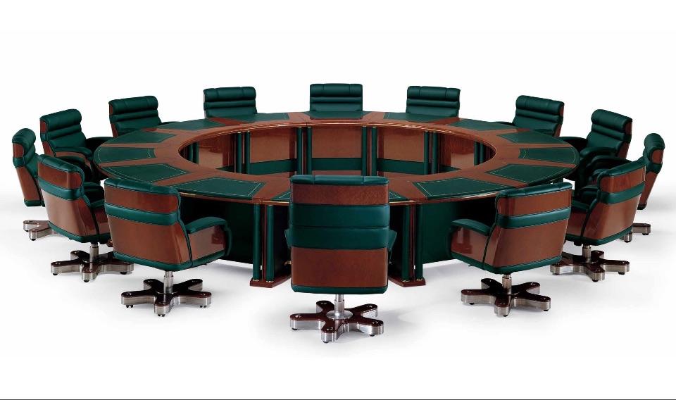 Конференц-столы для переговоров премиум класса Forum Plus Elledue