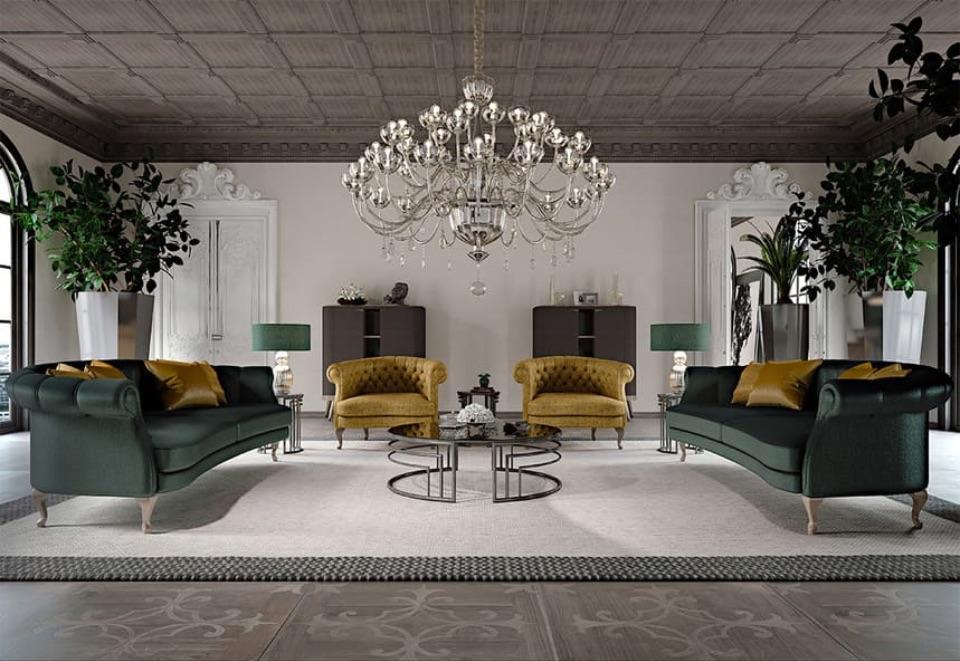 Интерьер гостиной MILANO HOME CONCEPT