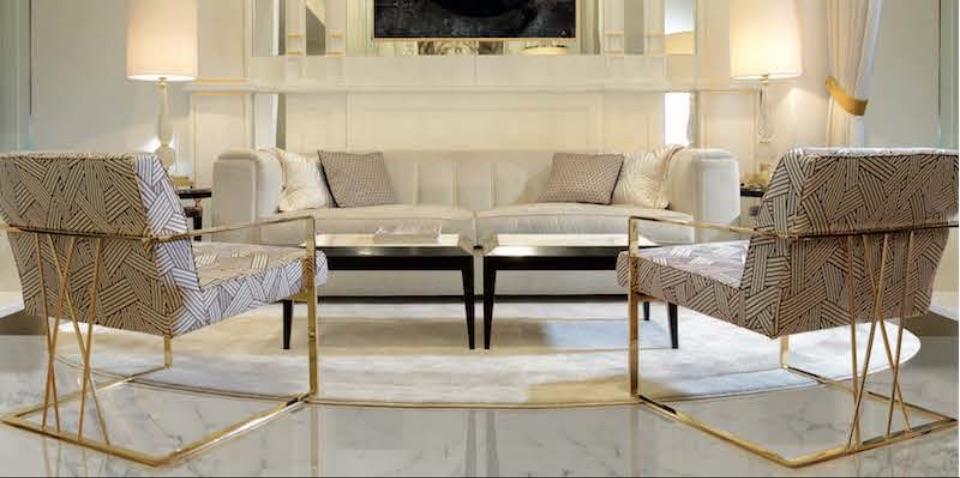 Интерьер гостиной MAGRITTE и ORIONE Zanaboni