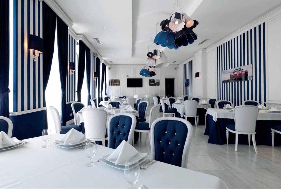 интерьер ресторана Elledue