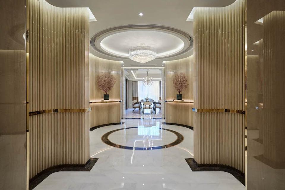 Дизайн интерьера апартаментов Turri