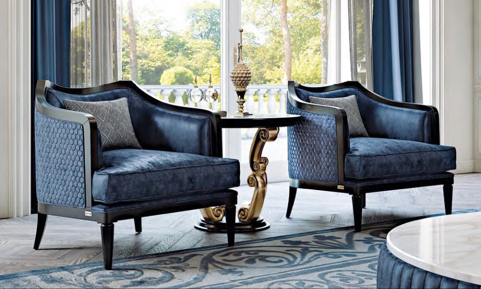 Кресла Gaia - Neoclassico Collection от Keoma Italy