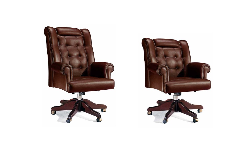 Кресло руководителя, посетителей Akron – Кабинет премиум класса Louvre Elledue