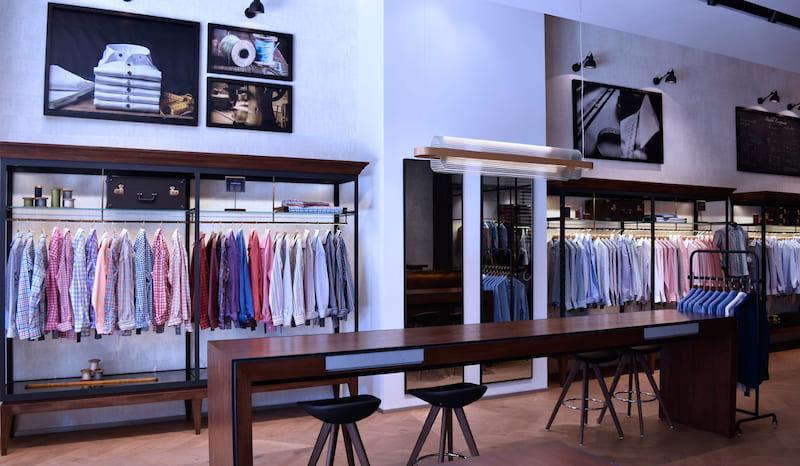 Дизайн интерьера бутика Kundalini