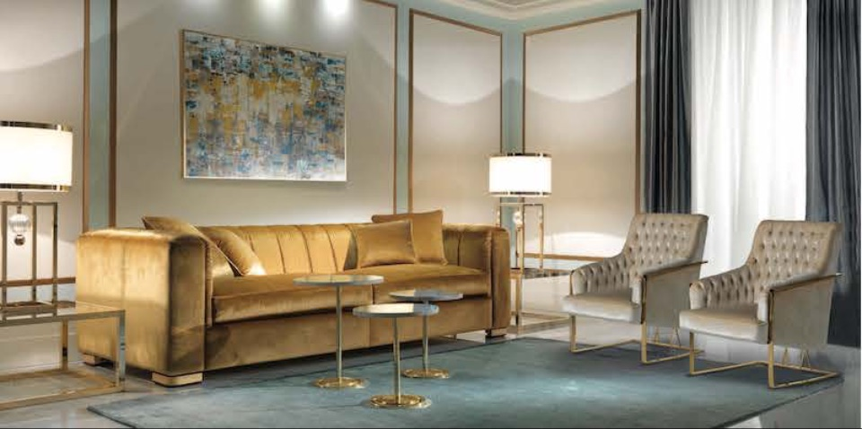 Интерьер гостиной Magritte и Dior Zanaboni