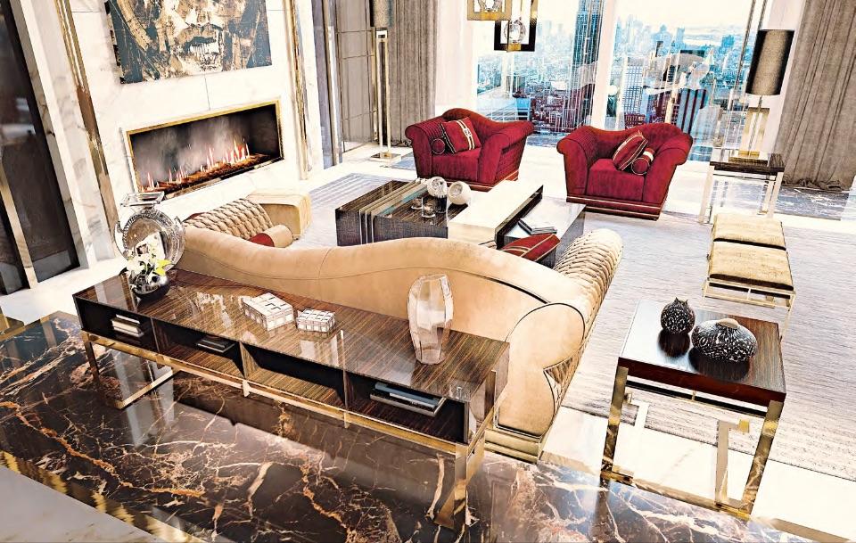 Гостиная Camilla - Luxury Collection от Keoma Italy