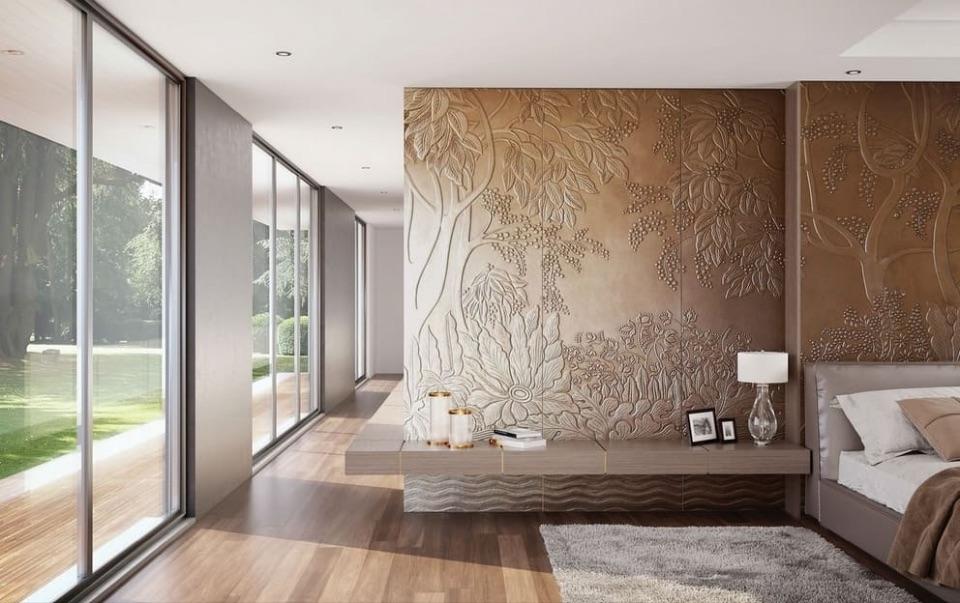 Дизайн интерьера спальни Alchymia